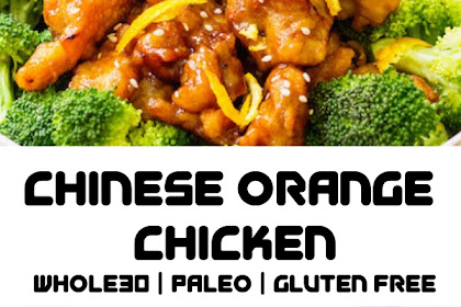 Easy Whole30 Chinese Orange Chicken: Paleo | Gluten-Free