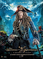 Pirates of the Caribbean Dead Men Tell No Tales Poster Geoffrey Rush 2