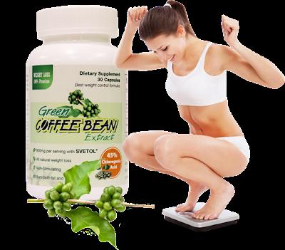 Giảm cân hiệu quả với Green Coffee Bean