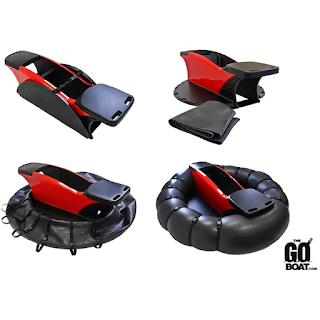 The GoBoat, le bateau portatif tamponneur