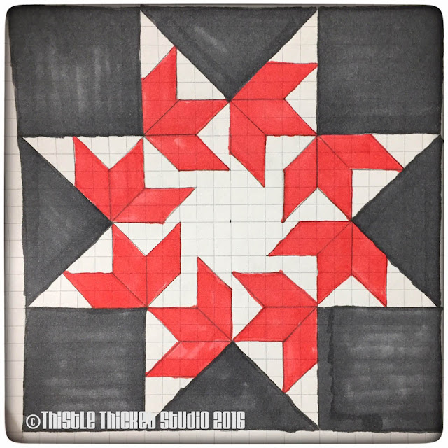 Thistle Thicket Studio, barn quilt, barn quilts, flying swallows barn quilt, barn quilt instructions