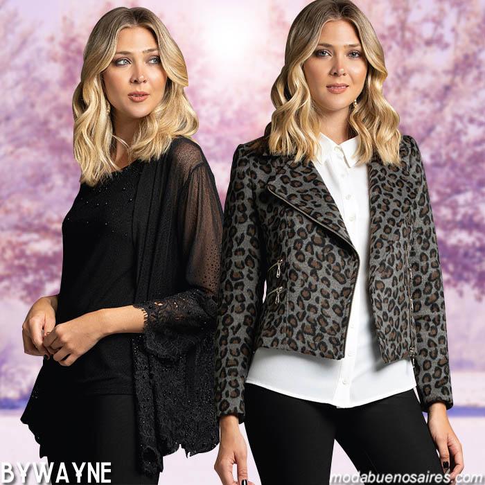 Blusas y chaquetas invierno 2019 mujer. Invierno 2019 mujer.
