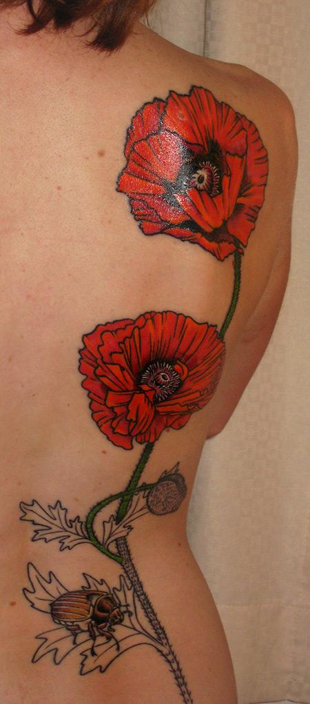 Poppy Flower Tattoo: Poppy Tattoo
