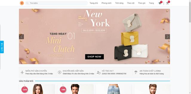 Template blogspot bán hàng thời trang đẹp chuẩn seo