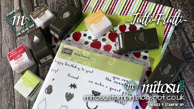 Tutti-Frutti Suite by Stampin' Up! from Mitosu Crafts UK Online Shop