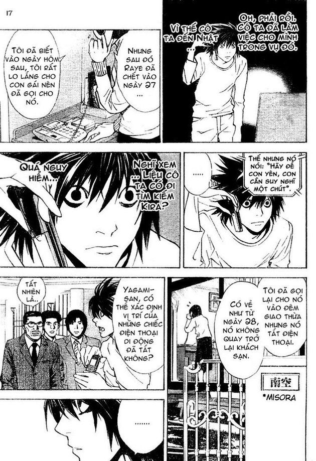 Death Note chapter 015 trang 17