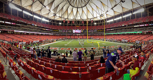 Georgia Dome Pano