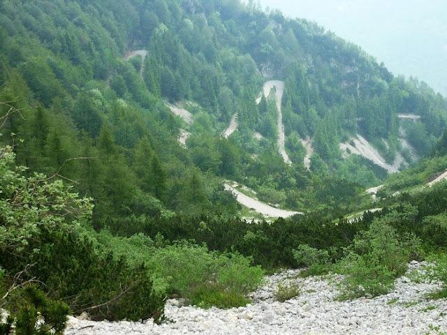 strada degli scarubbi monte pasubio