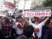 Kasihan, Massa Pro Ahok Diusir Paksa Polisi