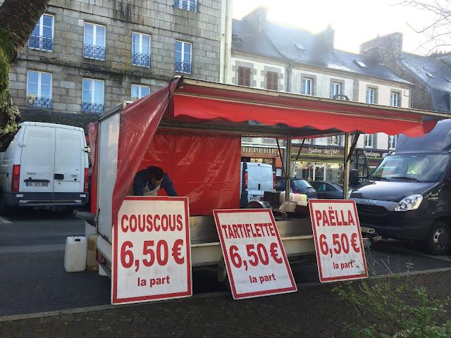 Huelgoat Market, Finistere, Brittany, France