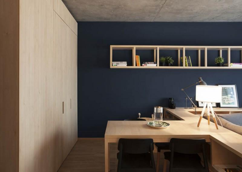 Khám phá phong cách thiết kế căn hộ 52m2 cực chất - H3