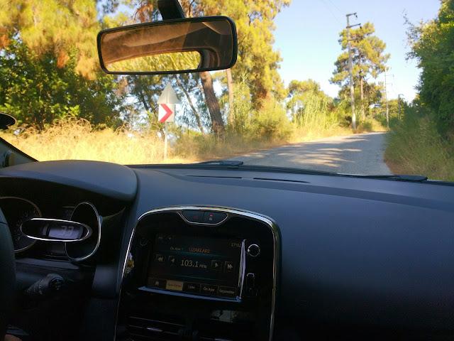 Дорога из Турунча в Мармарис.
