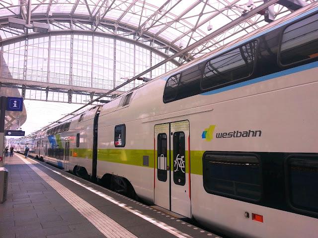 Tåg till Salzburg