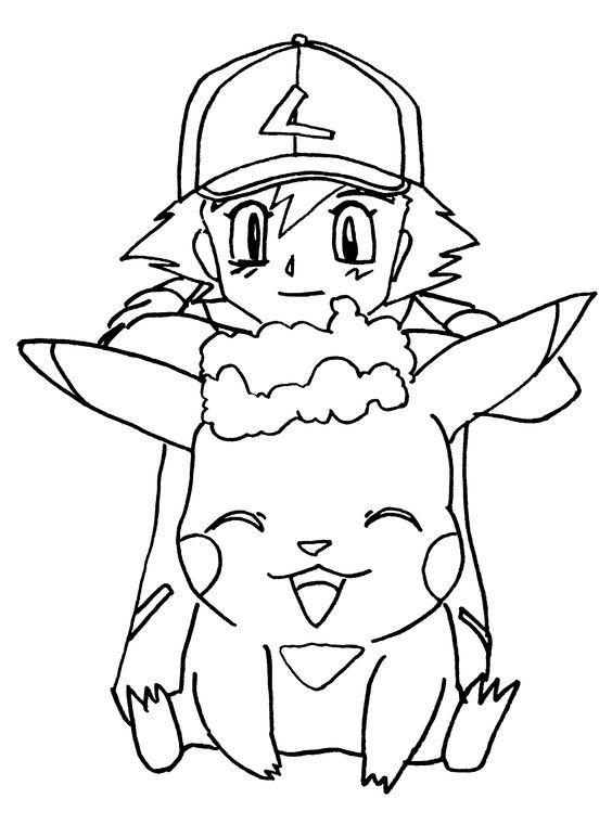 Tranh tô màu Pokemon 14