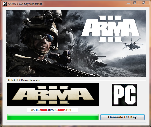 Get free Arma 3 activation code