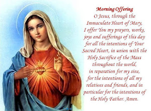 Morning Offering to the Immaculate Heart of Mary