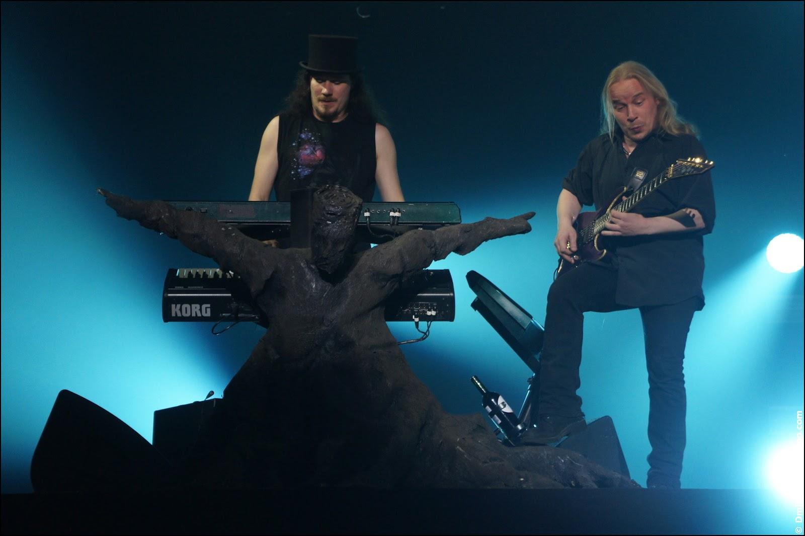 Nightwish: Tuomas Holopainen и Emppu Vuorinen.