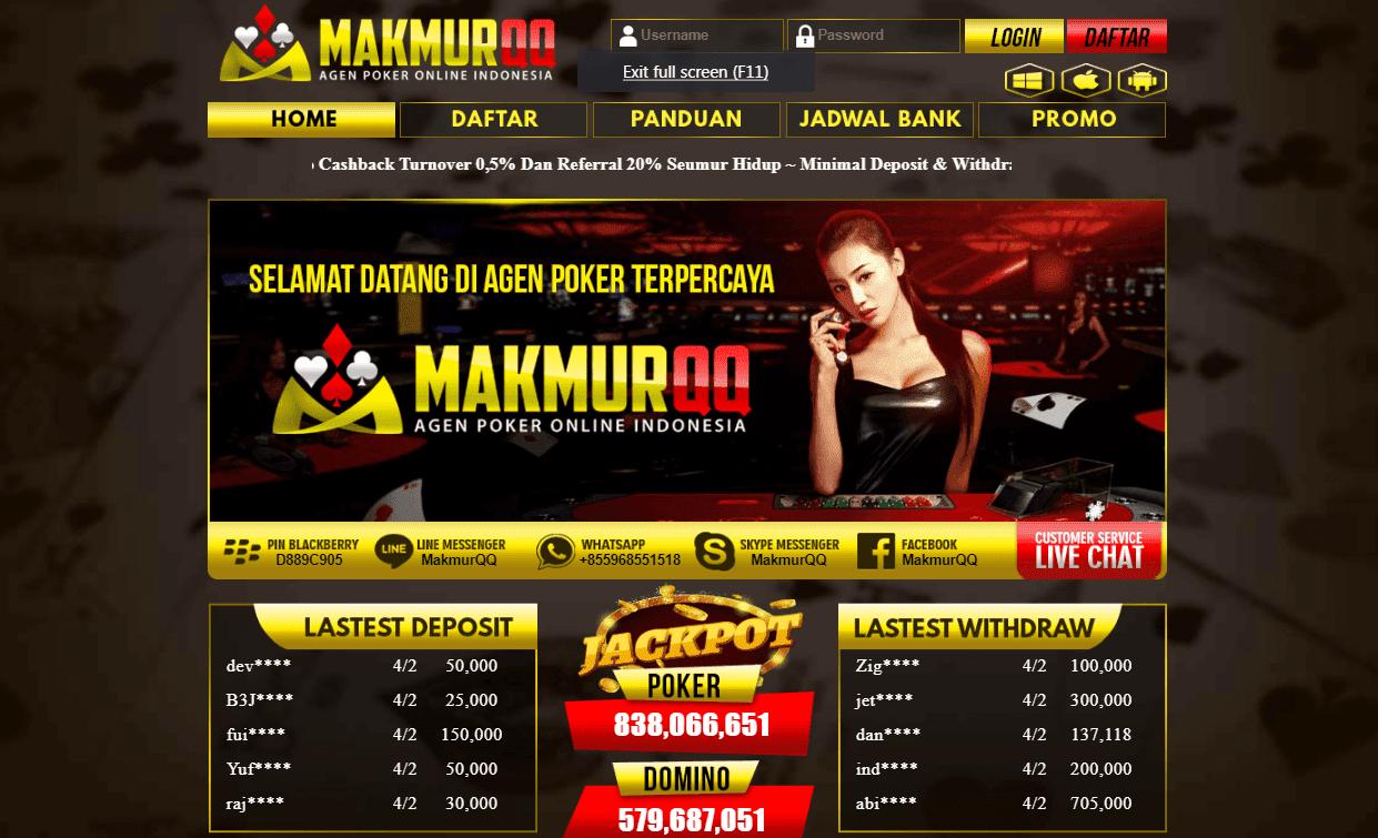 MakmurQQ Situs KiuKiu Online Terpopuler
