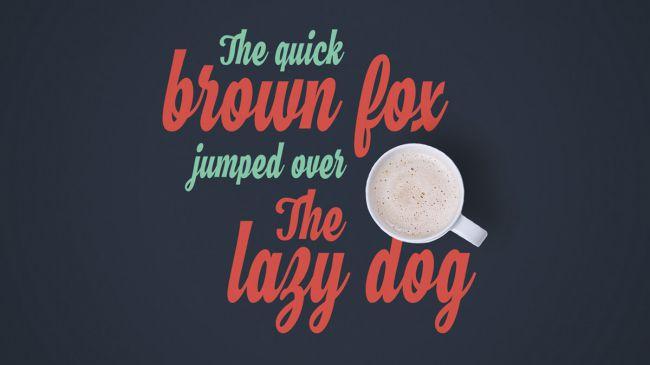 Vintage Font Gratis Terbaik - Hamster Free Vintage Font