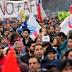 Protestas en Chile para exigir un nuevo sistema público de pensiones