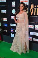 Prajna Actress in backless Cream Choli and transparent saree at IIFA Utsavam Awards 2017 0028.JPG
