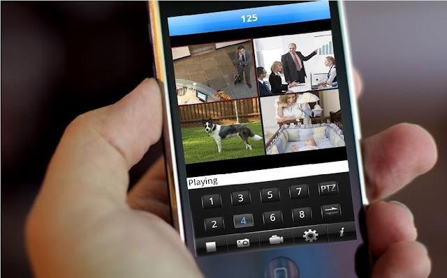 CCTV Mobile Monitorig