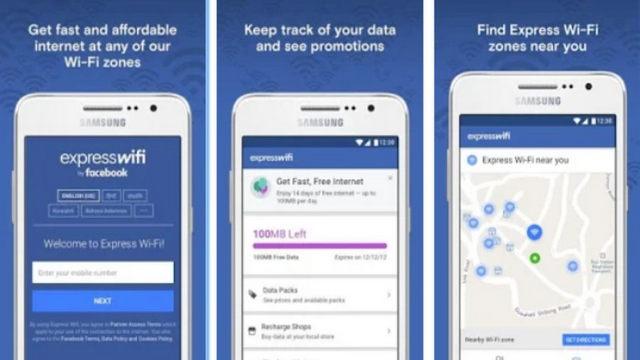 الفيسبوك يطلق تطبيق Express Wi-Fi لخدمة الانترنت الخاصة به