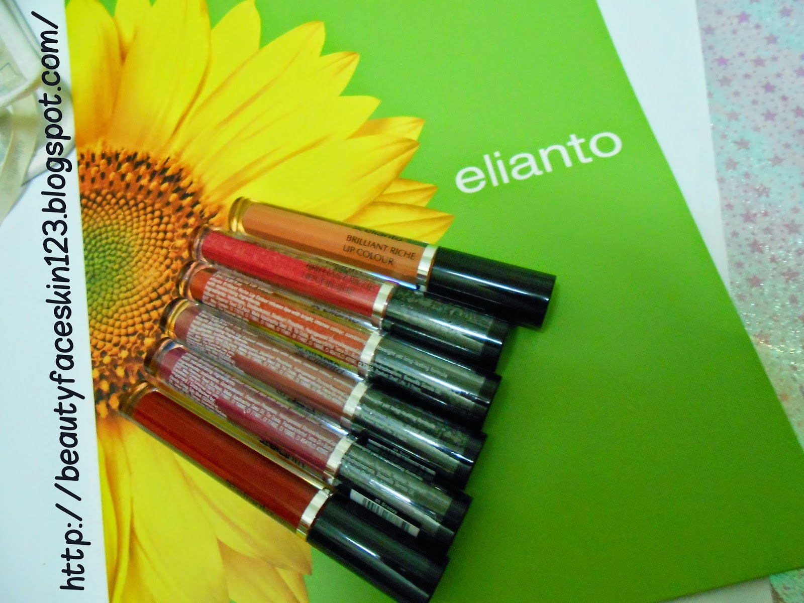 ELIANTO  BRILLIANT RICHE LIP COLOUR