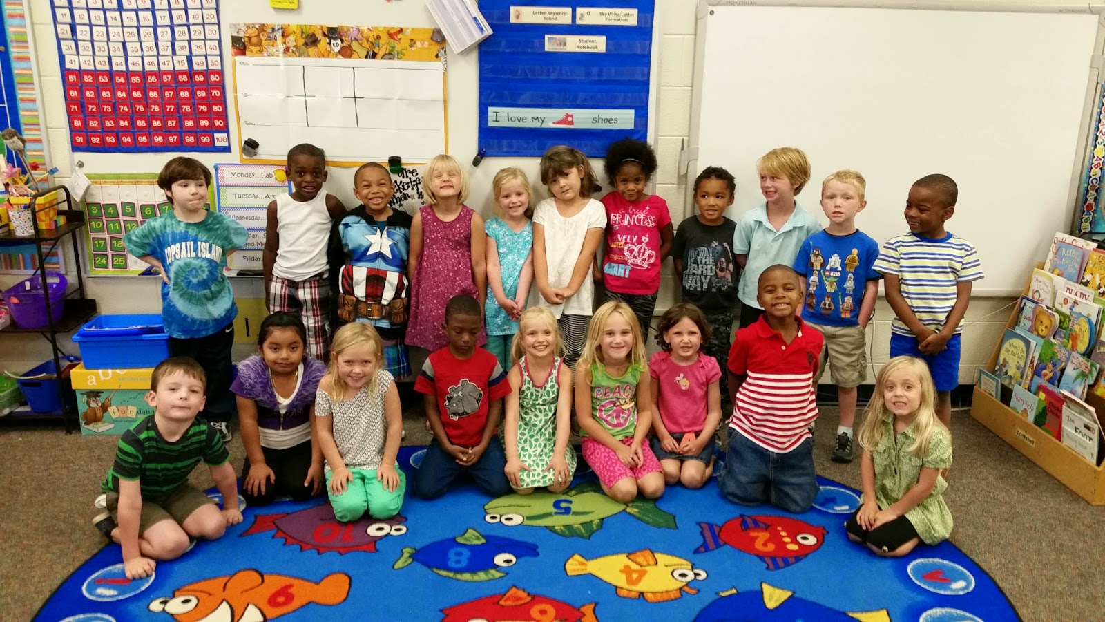 Kinder Garden: Miss Jones' Kindergarten Class: August 2014