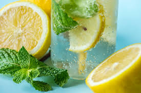 Mint lemon mix for Pimples