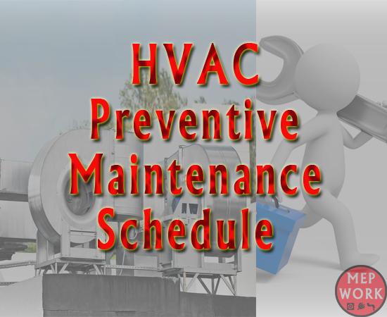 Preventive Maintenance Schedule & Checklists for all HVAC Equipment, Free PDF Document