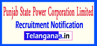 PSPCL Punjab State Power Corporation Limited Recruitment Notification 2017 Last Date 12-05-2017