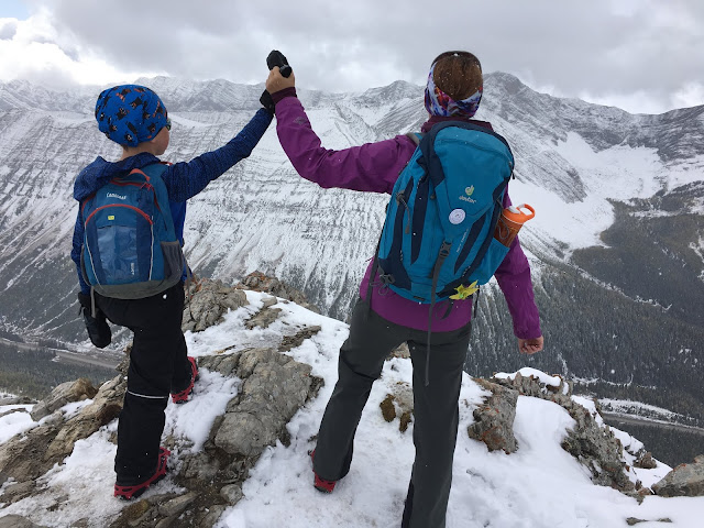 First Summits - Little Arethusa, Highwood Pass (Rockies Family Adventures)