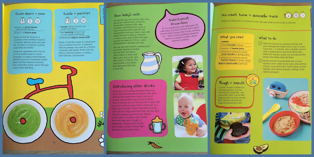 Ella's kitchen babies first food book of weaning