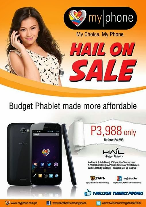 MyPhone Hail On Sale