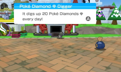 Pokémon Rumble World Poké Diamond Digger Mine digs Pokemon