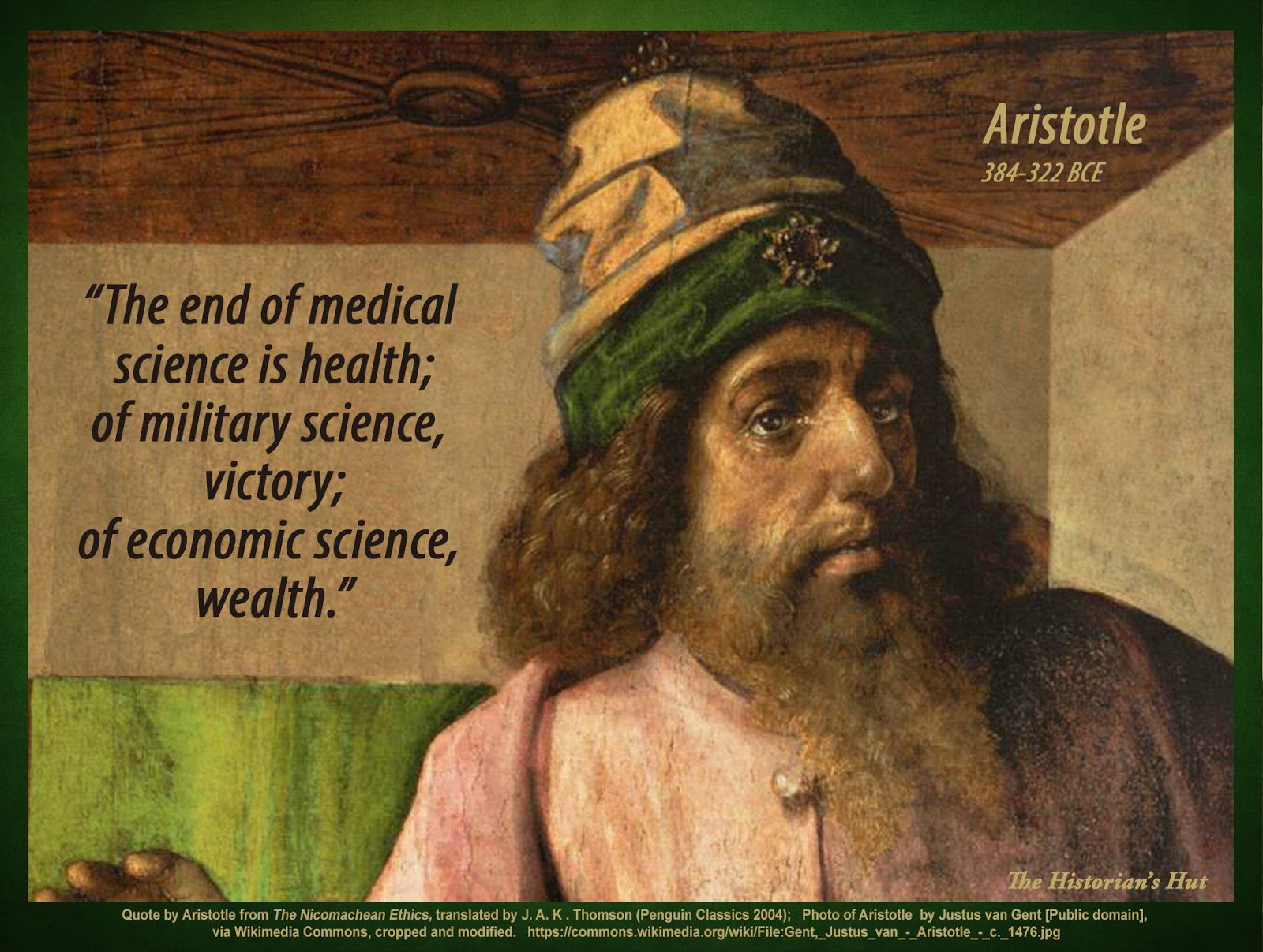aristotle on wealth Throughout history aristotle's work has influenced political philosophers and  which neither seeks the maximization of wealth,  when you sign up for medium.