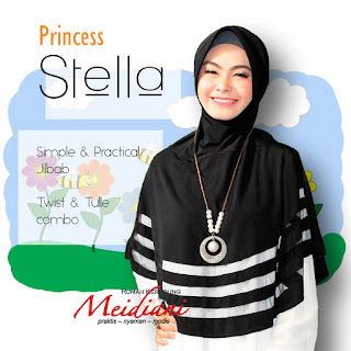 Jilbab Medium Princess Stella