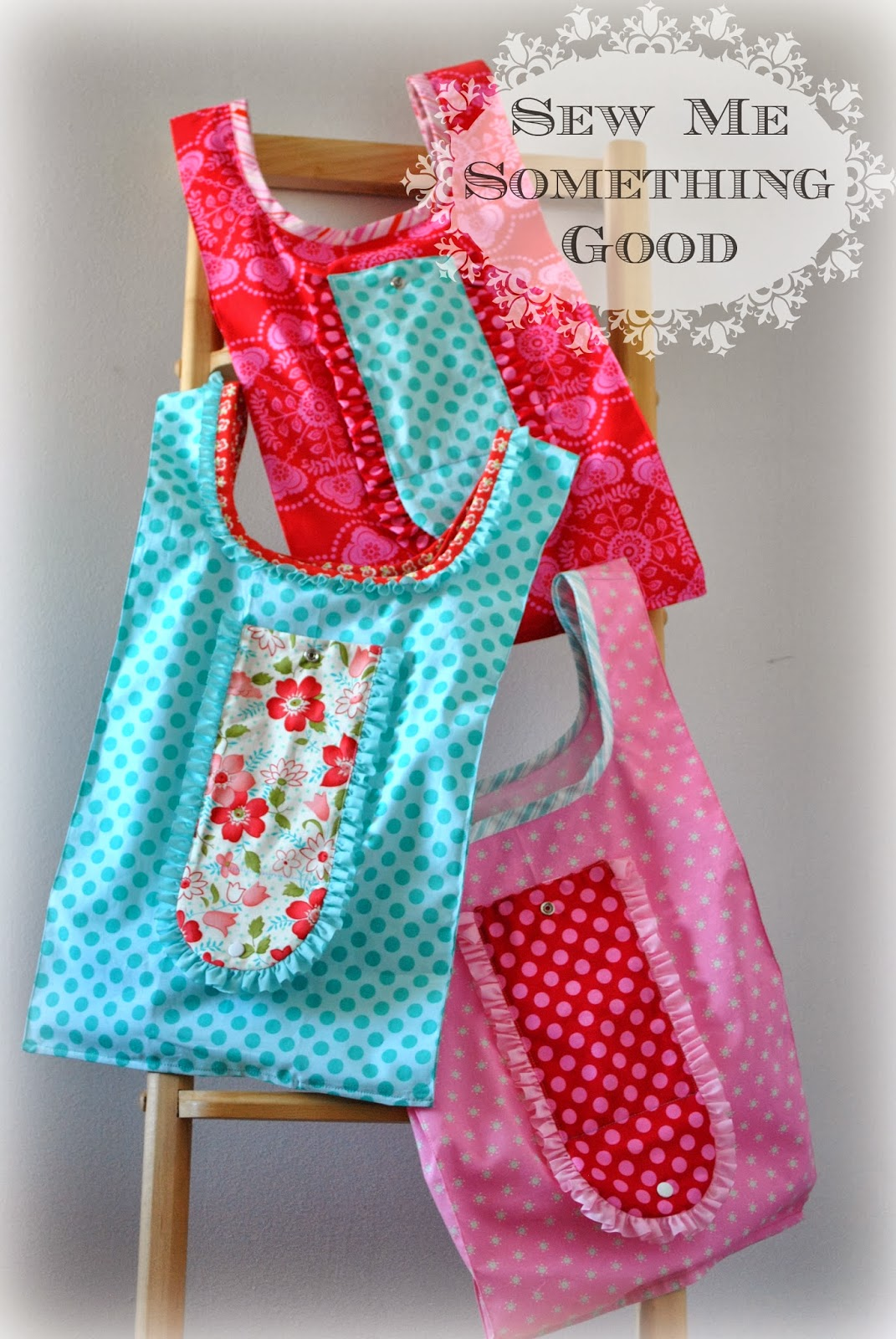 Fold'n Roll Shopping Bag Pattern