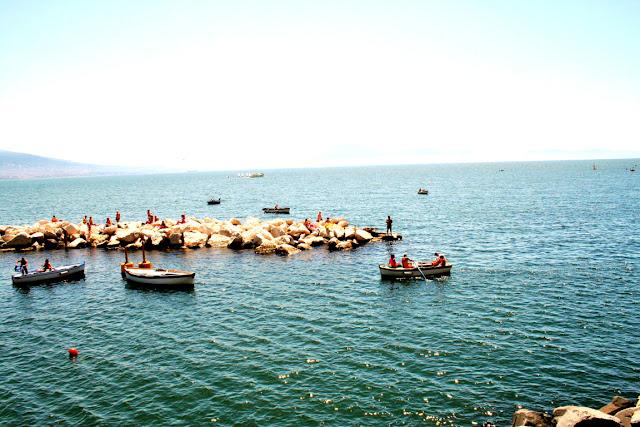 mare, acqua, barche, scogli, vacanze
