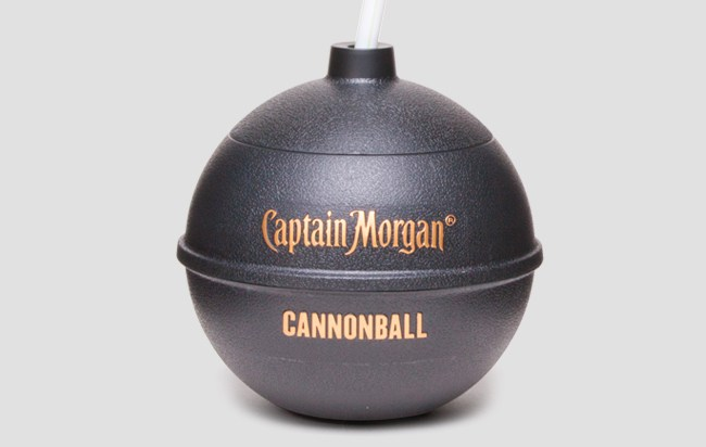 captain morgan cannonball - New rum in a cannon ball from Captain Morgan The Drinks Report
