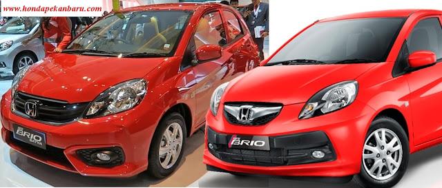 Perbedaan Honda Brio Facelift dan Honda Brio Lama,Pekanbaru Riau