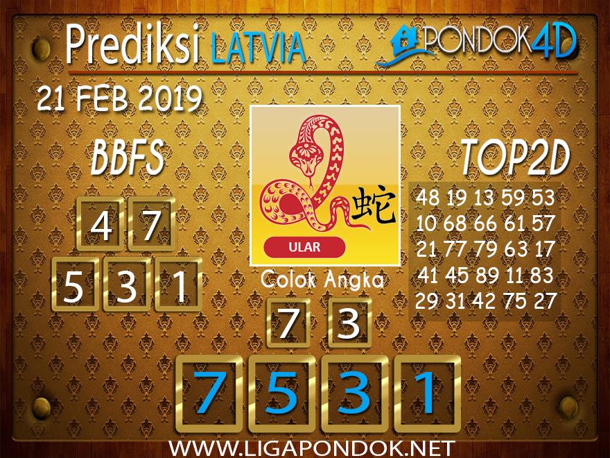 Prediksi Togel LATVIA PONDOK4D 21 FEBRUARI 2019