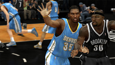 NBA 2K13 Kenneth Faried Cyberface Mods