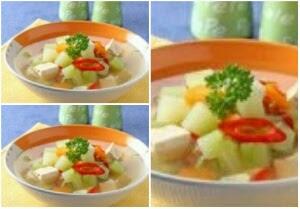 Resep Sayur Bening Labu Siam dan Tahu Sederhana Segar