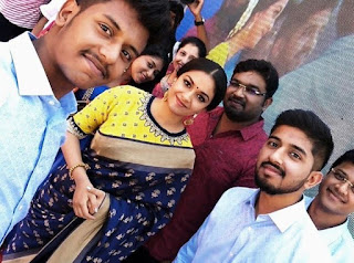 Keerthy Suresh with Cute and Lovely Smile with Fans at AVR Jewellers Opening