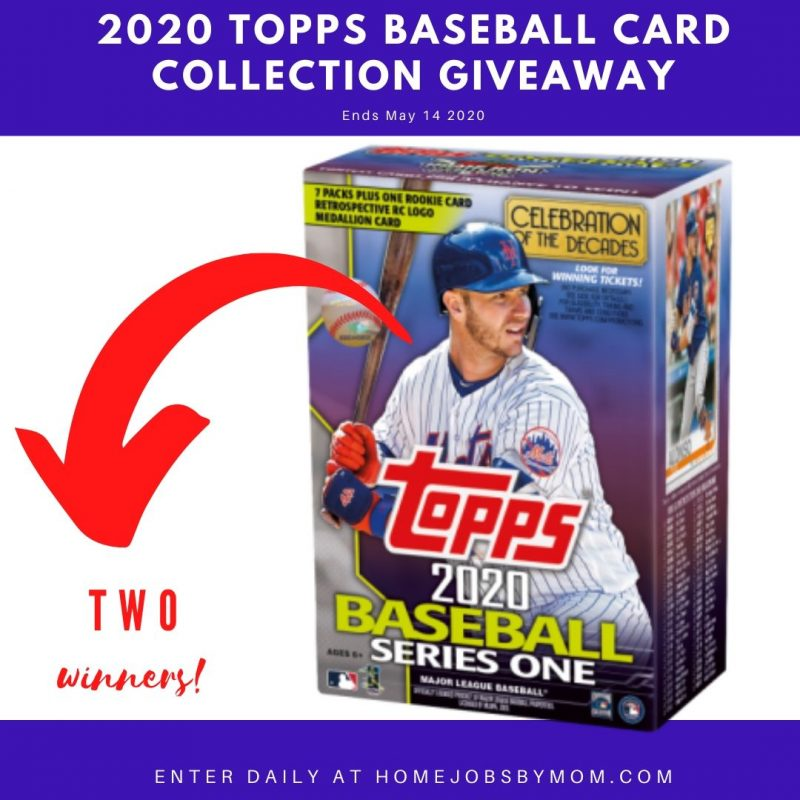 2020 Topps Baseball Card Collection Giveaway