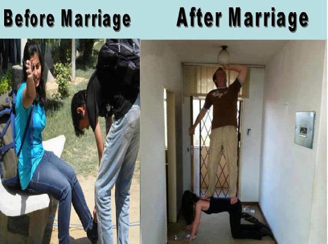 Funny Wallpapers And Images: Funny boys Vs Girls Before marriage and After marriage photos