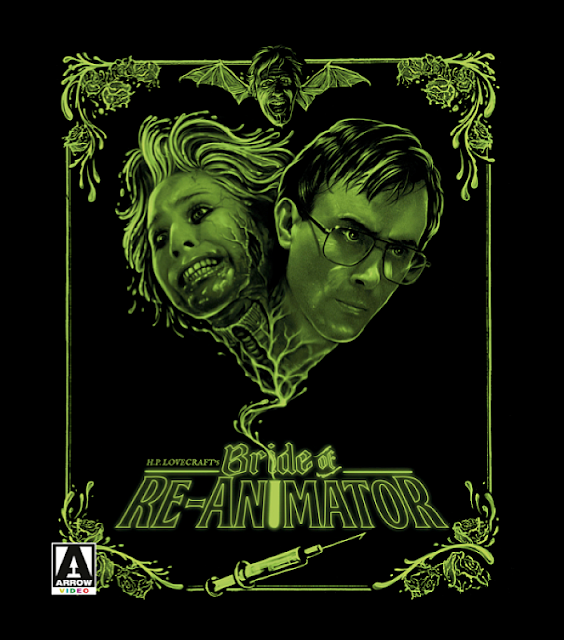 Bride of Re-Animator Blu-ray cover Arrow Video