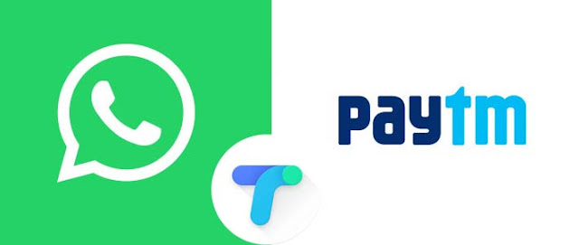 Whatsapp Vs Google Tej Vs Paytm